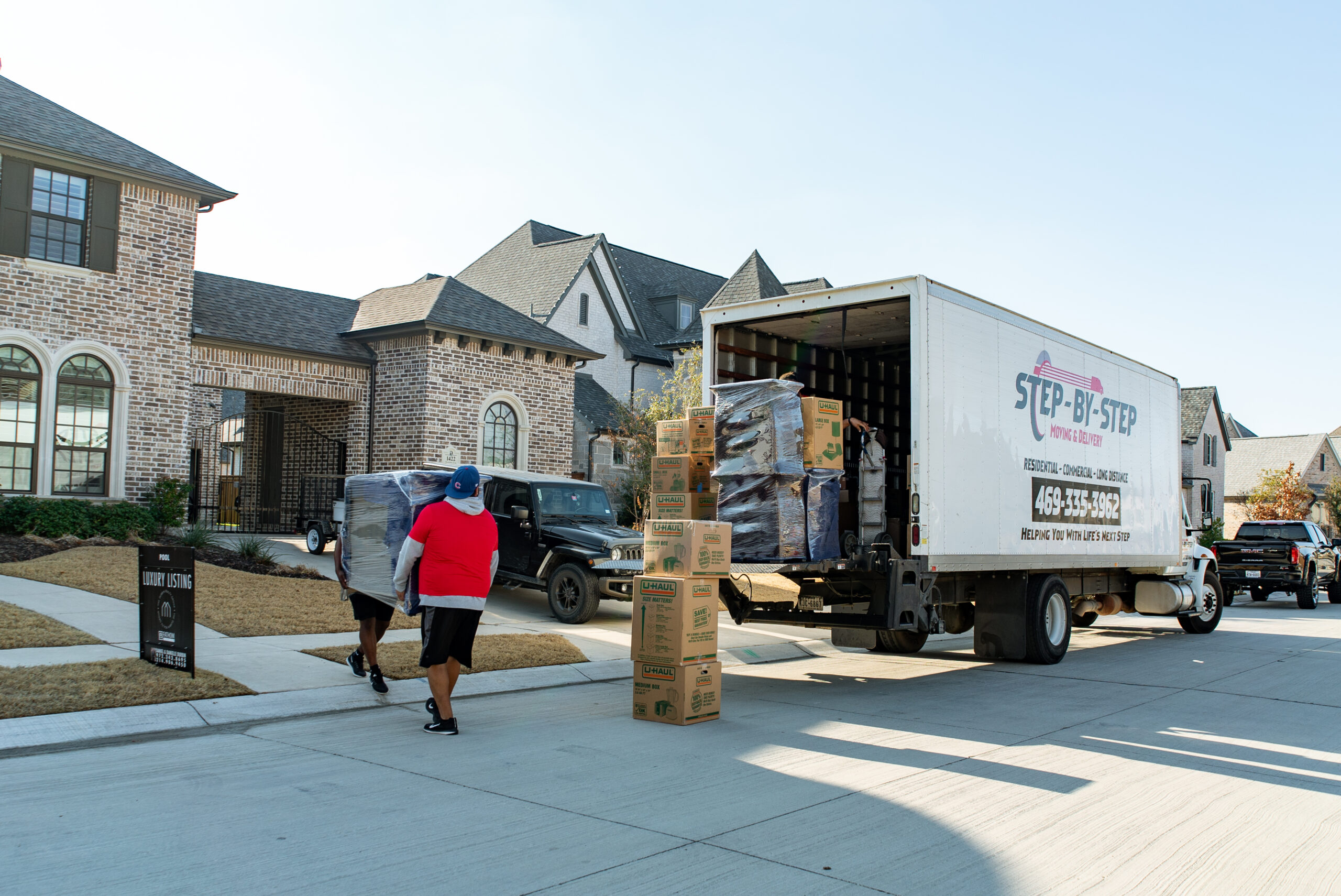 Loading and Unloading Services- Step by Step moving and delivery